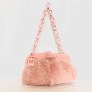 Chanel No 5 fur Shoulder bag